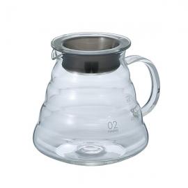 Carafe support en verre V60 Hario