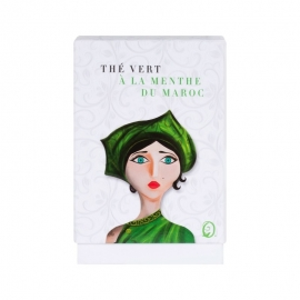 Thé Vert à la Menthe du Maroc