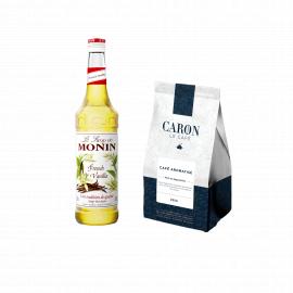 Le café aromatisé à la vanille - Café Caron