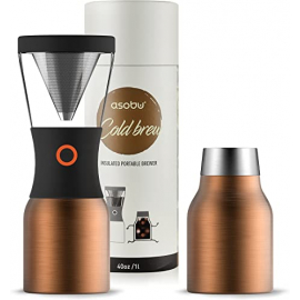 Cold Brew Coffee - Cafetière d'extraction à froid - Black | ASOBU®