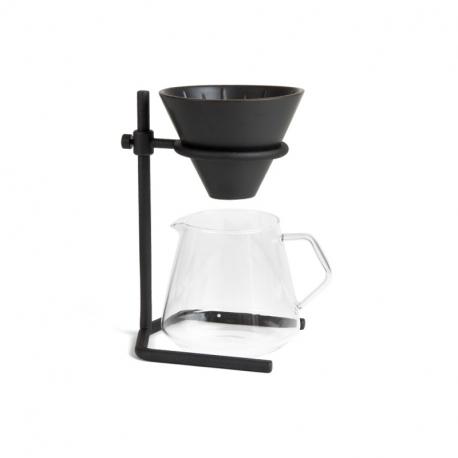 Kit Slow Coffee Style - 2 tasses - Noir l KINTO®