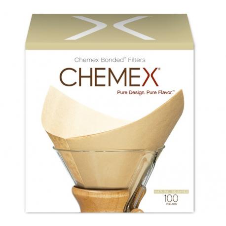 Filtres naturels pour cafetière 6 à 8 tasses - CHEMEX®