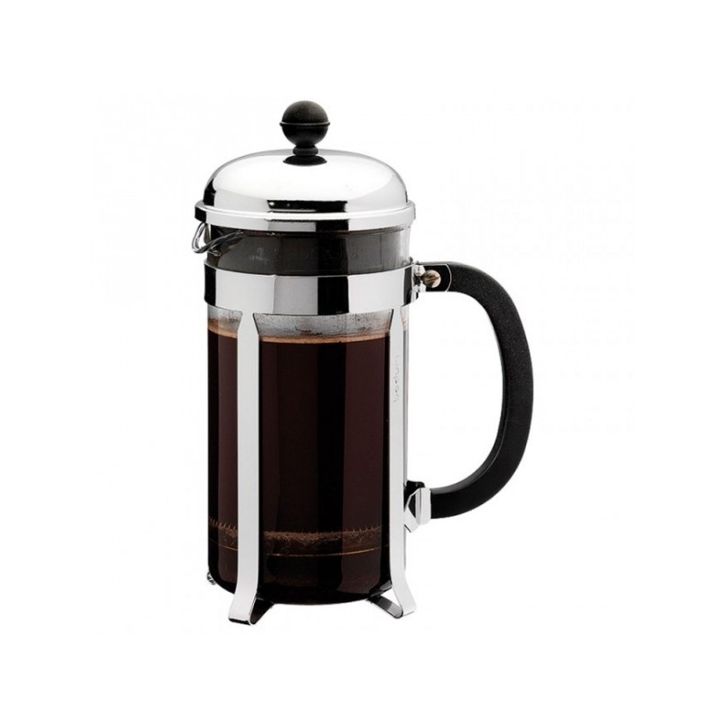cafeti re piston bodum chambord brillant 3 tasses caron service. Black Bedroom Furniture Sets. Home Design Ideas