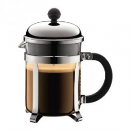 Cafetière piston Bodum Chambord brillant (4 tasses)