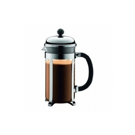 Cafetière piston Bodum Chambord brillant (8 tasses)