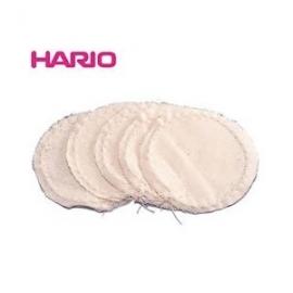 5 filtres en tissus de remplacement pour Cafetière Syphon Hario