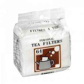 Filtre a thé boite de 64
