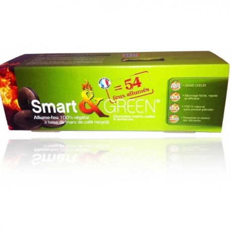 Allume-feu 100% végétal