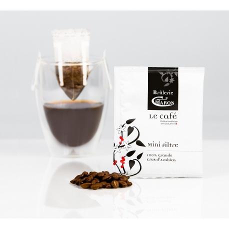 10 MINI FILTRE LE CAFÉ CARON