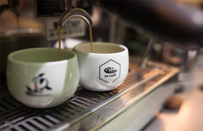 Le café Caron : une signature
