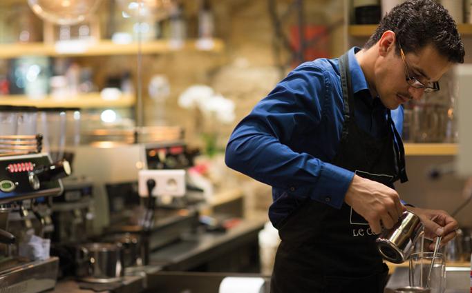Le Barista, plus qu'un professionnel, un artiste du café