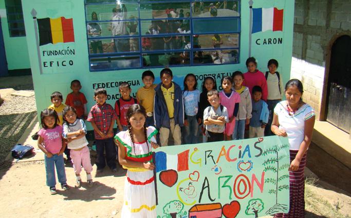 La solidarité à l'oeuvre pour la Maison Caron