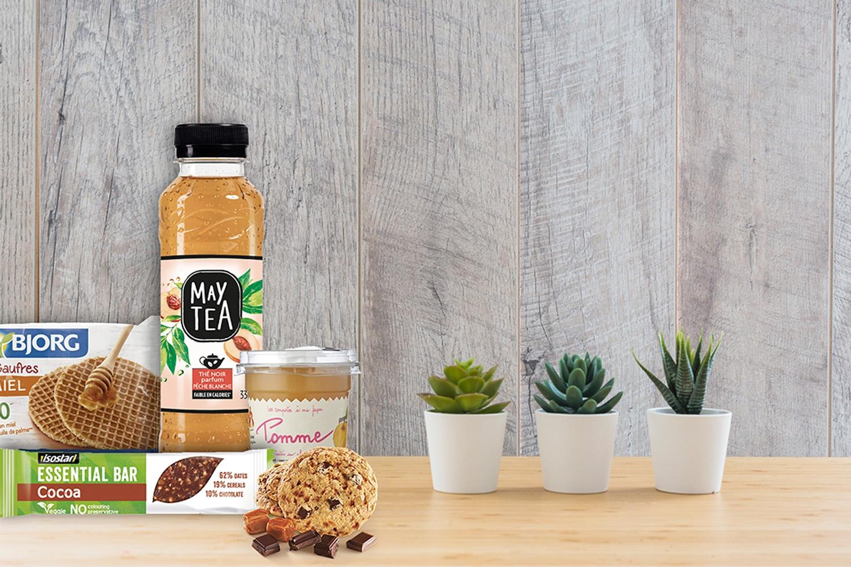Un distributeur valorisant une alimentation saine et durable