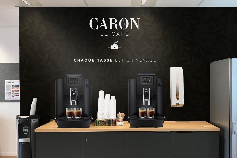 La mise en place de machine espresso ou filtre pour le club direction et le room service