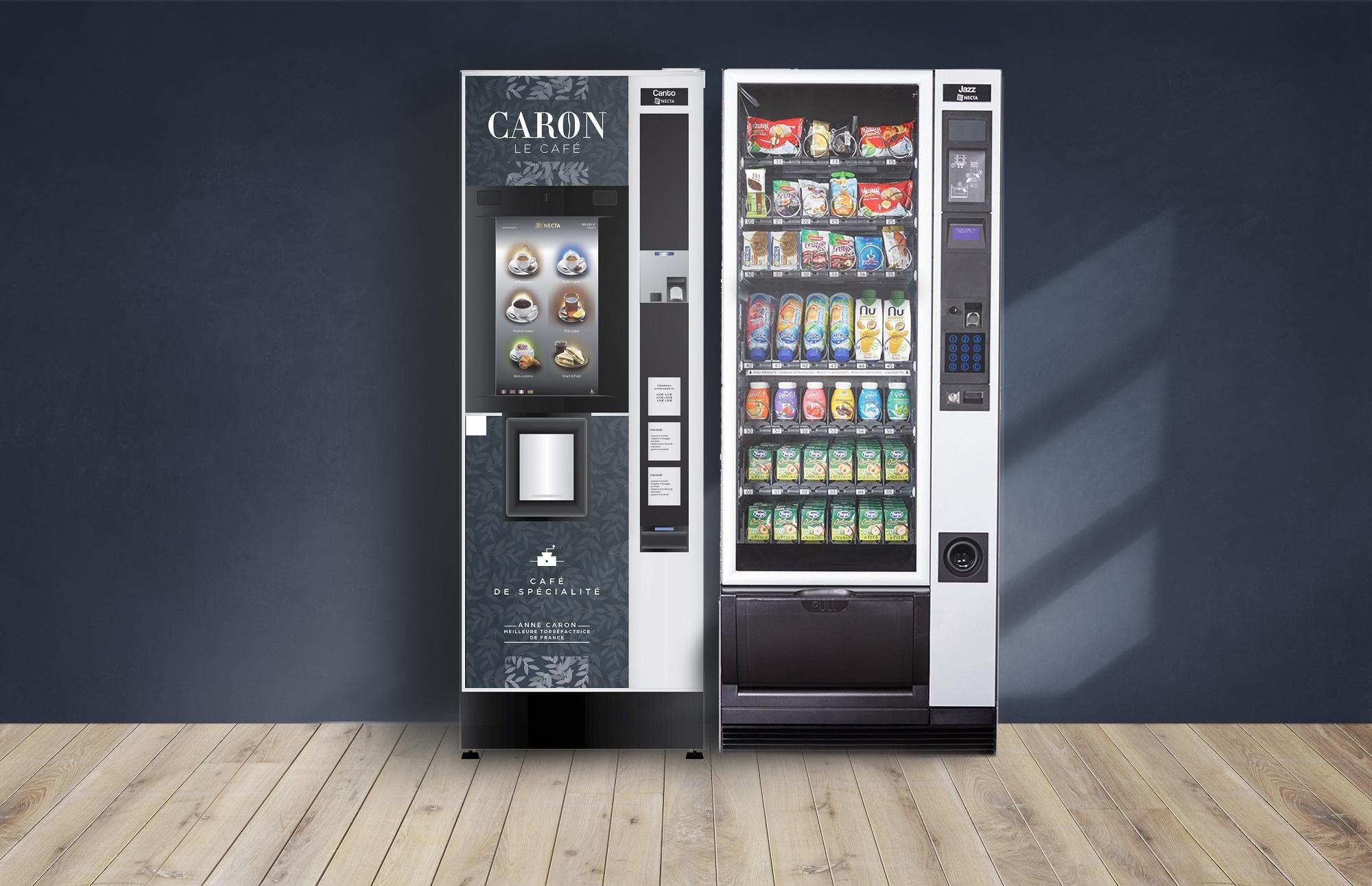 L'installation et la maintenance de distributeurs automatiques de boissons chaudes