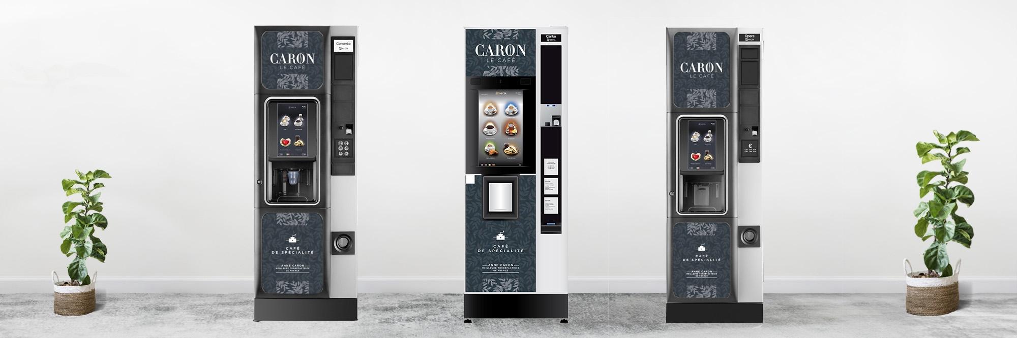 Couverture distributeur automatique