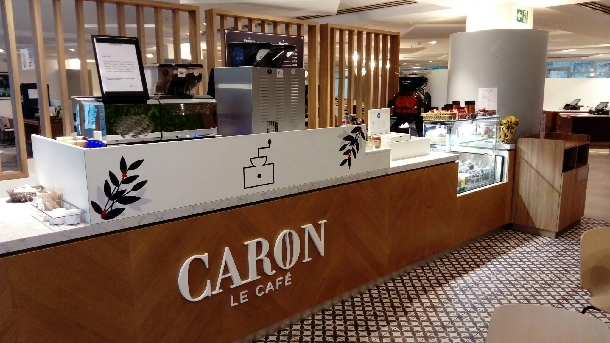 La fourniture de Café Caron pour la cafétéria ou le restaurant d'entreprise